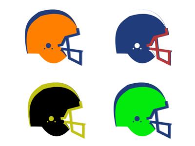 Football fun sketch illustration football