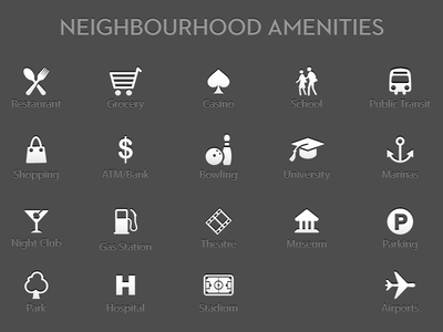 Neighbourhood Icons