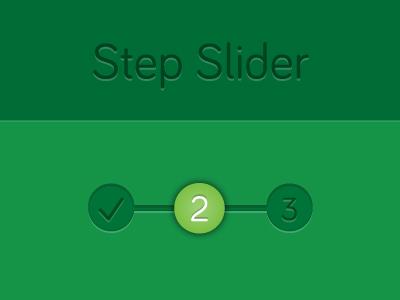 Step Slider
