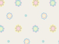 Baby Daisy Surface Pattern