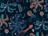 Octopus Repeat Pattern