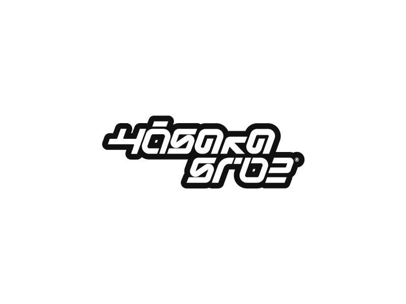 Hosaka Side vector kanji typo logotype