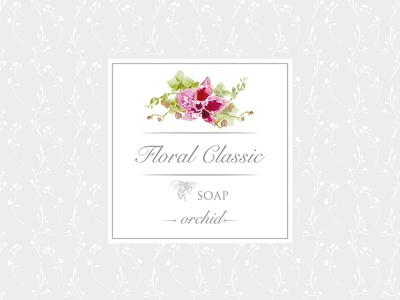 Soap Sticker Orchid