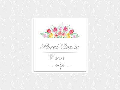 Soap Sticker Tulip