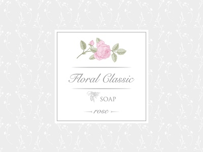 Soap Sticker Rose