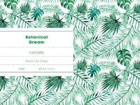 Botanical Dream Design Branding
