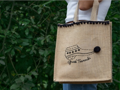 Greece Bag Tsarouchi textiles textile old fashioned athens graphic design bags bag embroidery drawing grrek greece art artist adobe summertime summer flat illustration vector design