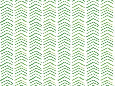Watercolor Pattern Green