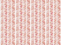 Watercolor Pattern Red