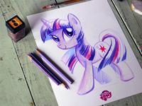 My Little Pony Sketch Plate