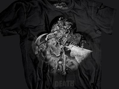 Death Tarot Card Tee Shirt