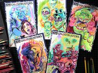 Ghostbusters Dia De Los Muertos Sketch Covers