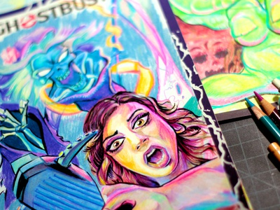 Ghostbusters Original Sketch Cover #2