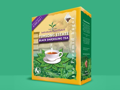Tumsong Tea Packaging