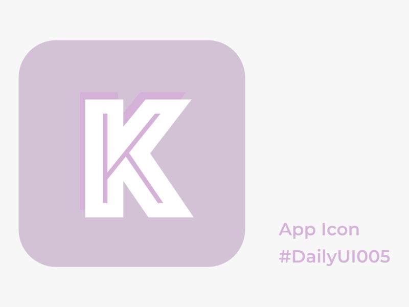 DailyUI005 app icon dailyui005 dailyui