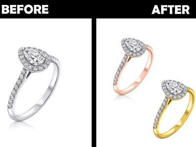 Jewellery Colour retouching cliping path jewellery retouching adobe photoshop color correction image retouching