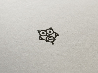 owl-design flat owl design logo