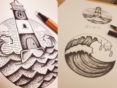 Pen Illustrations