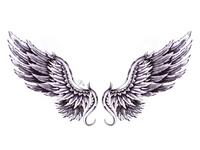 Full Wings Tattoo