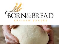 Born and bread Logo