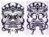 Tattoo Mask Designs