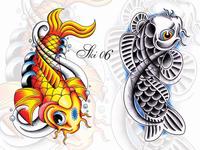 Tattoo Koi Designs