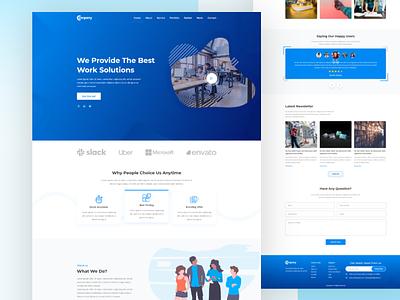 Agency Landing Page Design agency web design business agency website design agency website agency landing page