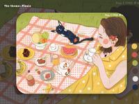 picnic illustration
