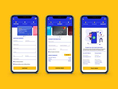 DailyUI 002 mobileapp dailyui webdesign visualdesign creditcard paymentapp