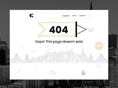 Daily UI Challenge: 008 bayarea sanfrancisco ux portfolio webdesign visualdesign 008 dailyui
