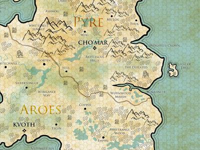 Pathfinder map   arkhosia