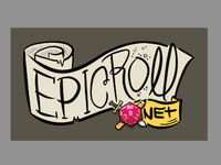 New treatment for blog logo