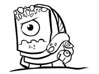 The Monster as the Krogan