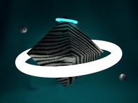 Neon & octahedron