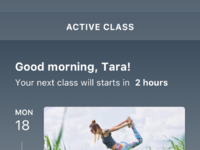 1active class