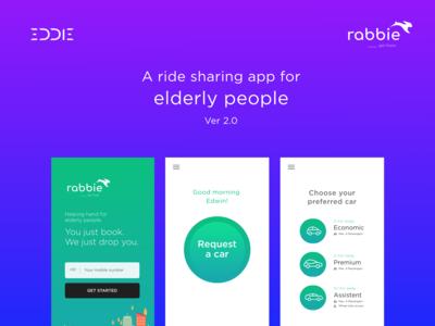 Rabbie - Ride booking app(UI/UX)