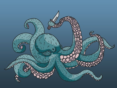 When You Give an Octopus a Knife