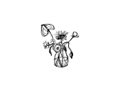 Rough Flower Sketch