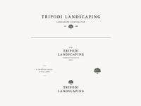 Tripodi Landscaping Logo System