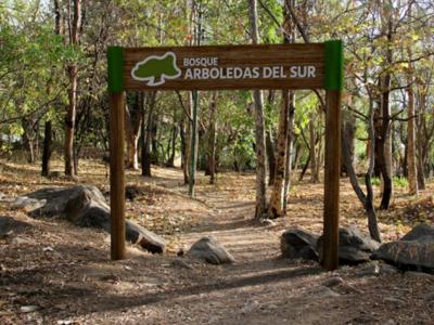 Logo and signage design - Bosque Arboledas del Sur