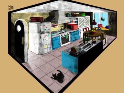 Kitchen | Cocina