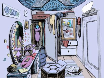 Camerino | Dressing room