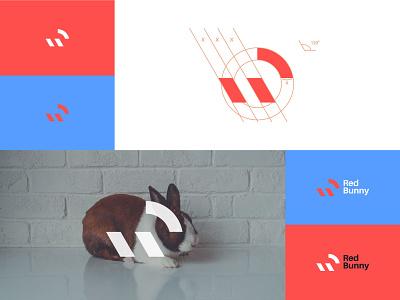 Minimalist logo design logos rabbit logo clean logo clean design timeless logo designer logo inspiration logo design concept logo mark bunny logo simple logo geometric brand identity branding logodesign minimalist logo minimalism minimal rabbit bunny