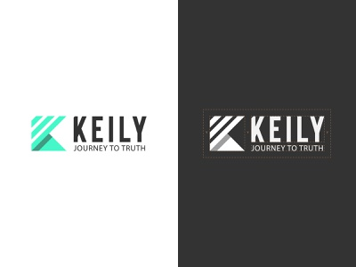 Logo design concept for keily minimal logo design flatlogo lettermark blog logo simple logo geometric minimalist logo logodesign branding brand identity