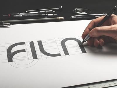 FILA - Logo Redesign minimal fila sneakers apparel logo logotype logo design sportswear simple logo geometric lettering logo type logo typogaphy clothing logo clothing brand flatlogo brand identity