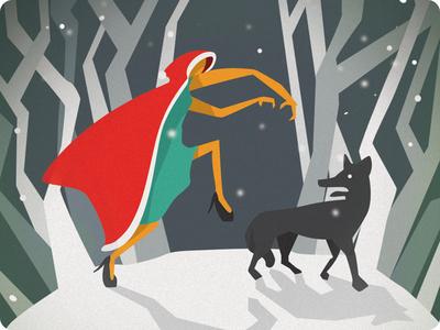 Merry Christmas! christmas card illustration graphic design