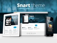 Snart Coming Soon Web Template