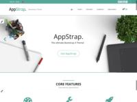 Appstrap Homepage Rework