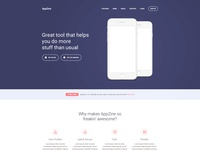 AppStrap App Landing Page