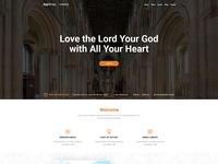 AppStrap Church Homepage